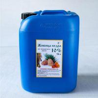 Живица кедра 10% на кукурузном масле, 10Л